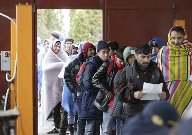 migrants en Slovénie