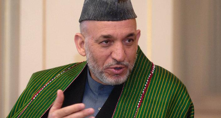 L'ex-dirigeant afghan Hamid Karzai