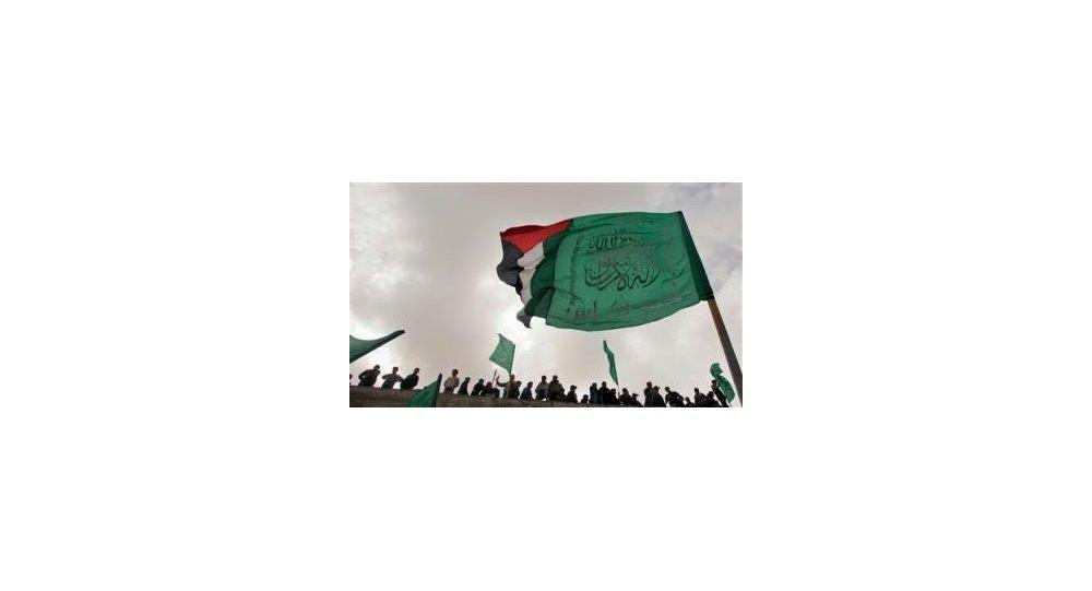 Le drapeau de Hamas