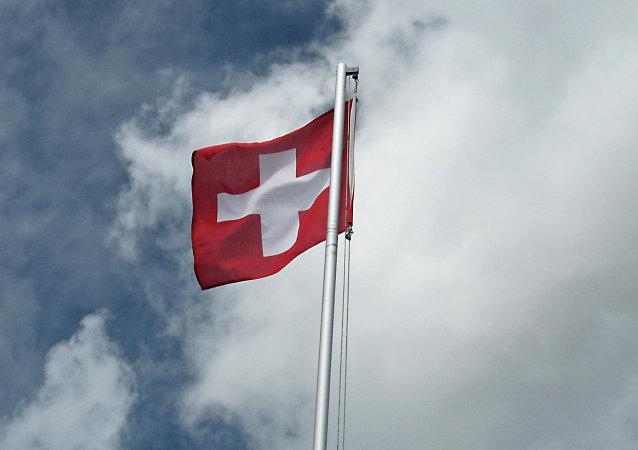 Le drapeau de la Suisse