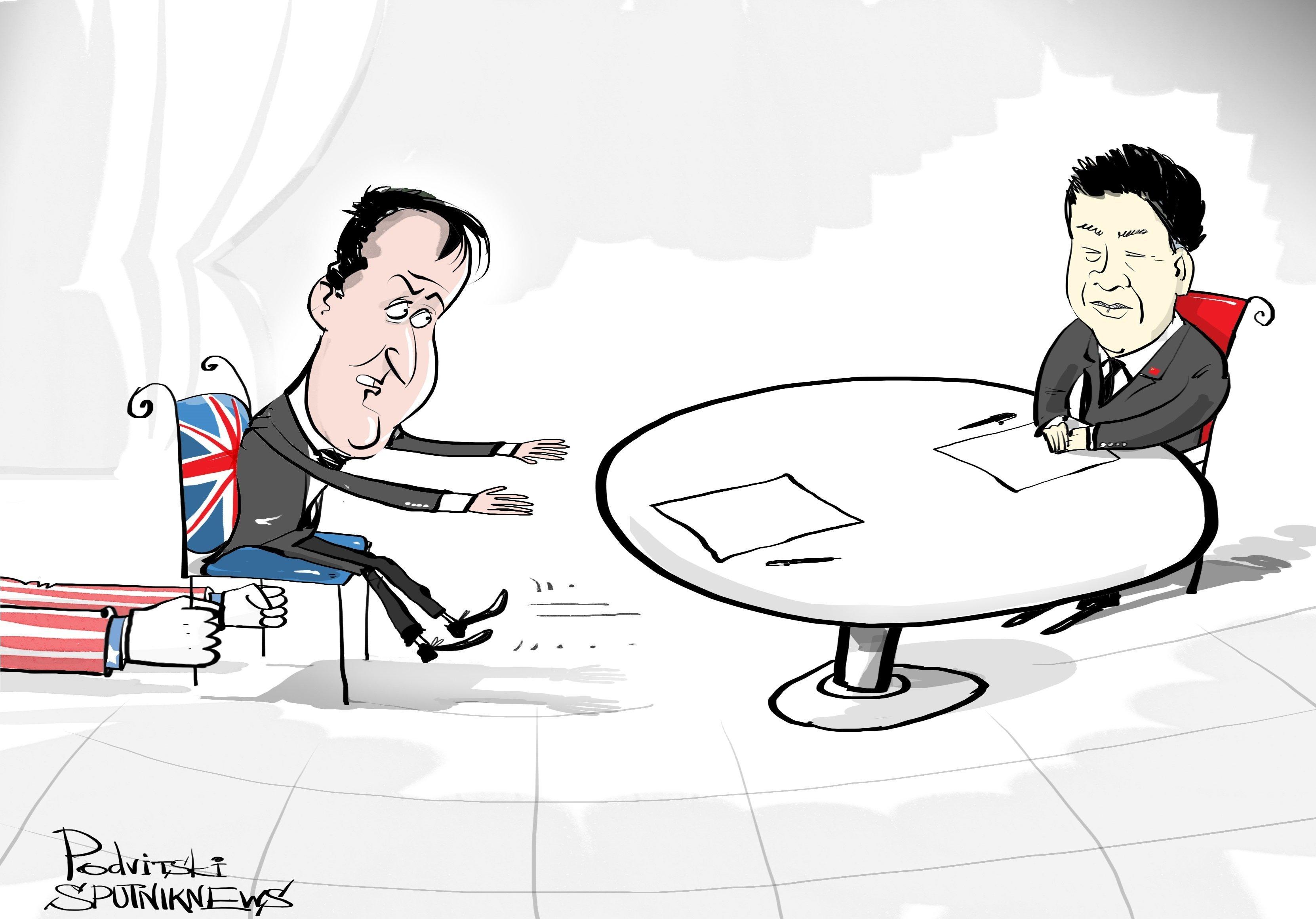 Rapprochement sino-britannique: domaine privé, défense d'entrer!