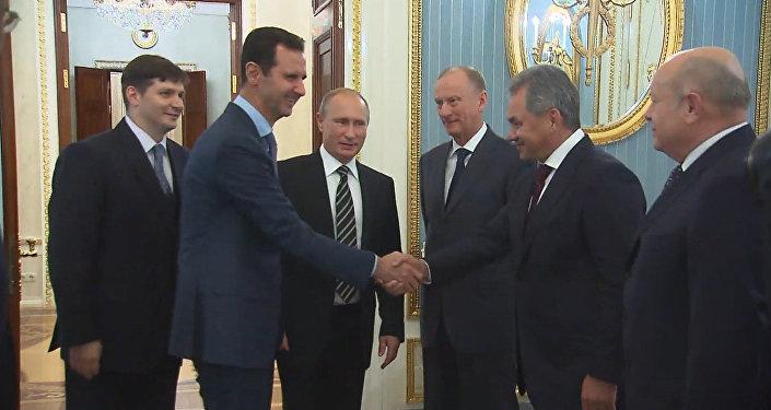 Un dîner en l'honneur de Bachar el-Assad à Moscou