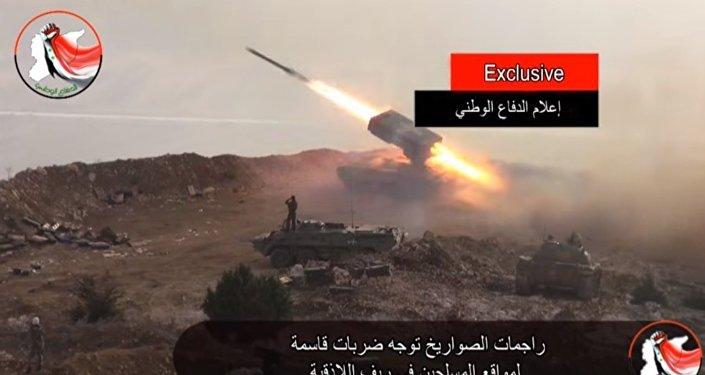 Syrie: les lance-flammes lourds russes contre les positions de l'EI