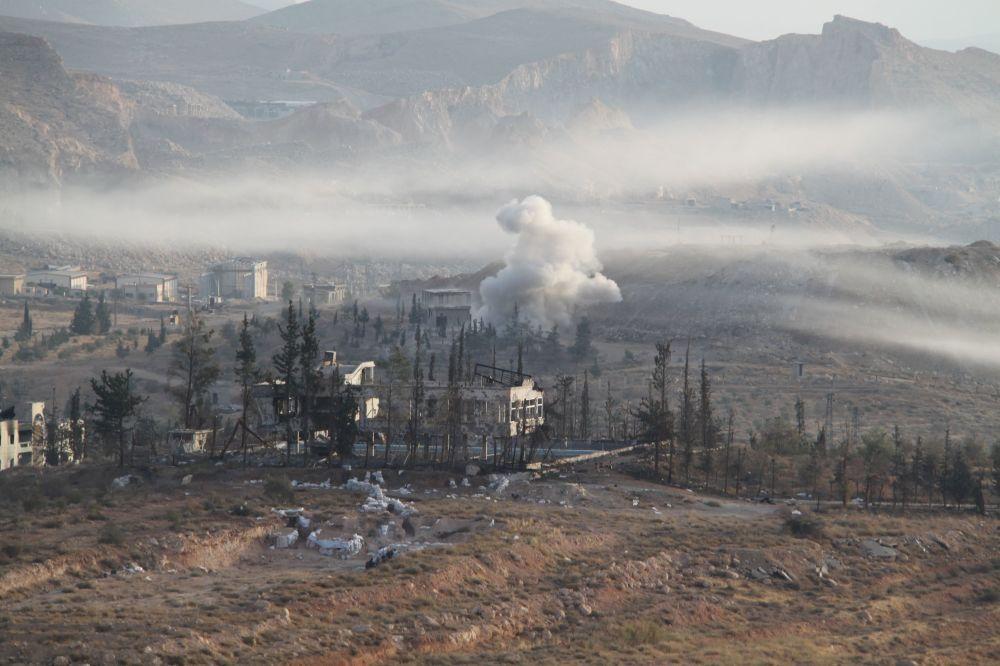 L'opération spéciale de l'armée syrienne à Harasta