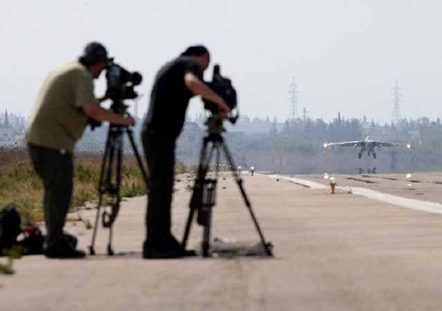 Les médias occidentaux en visite en Syrie