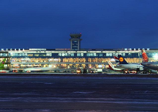Aéroport de Domodedovo, à Moscou