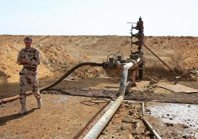 Un gisement de pétrole syrien situé près de Palmyre