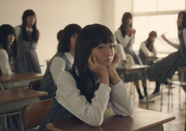 Des écolières japonaises... vraiment?