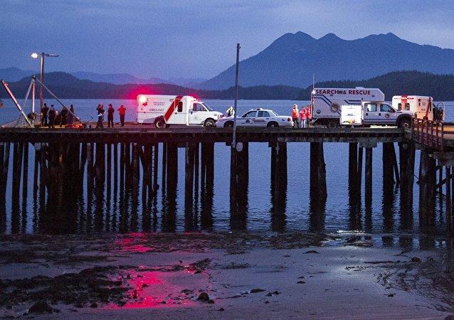 Naufrage d'un bateau au Canada, oct. 25, 2015.