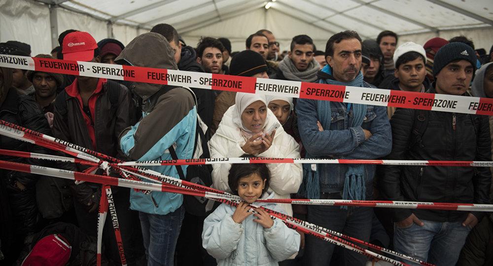 Migrants à Berlin