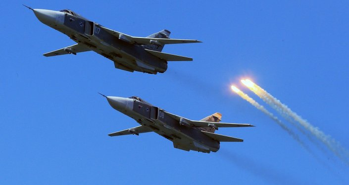 Su-24 frontline bombers