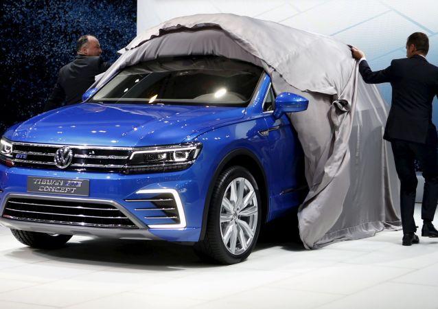 Une Volkswagen Tiguan GTE