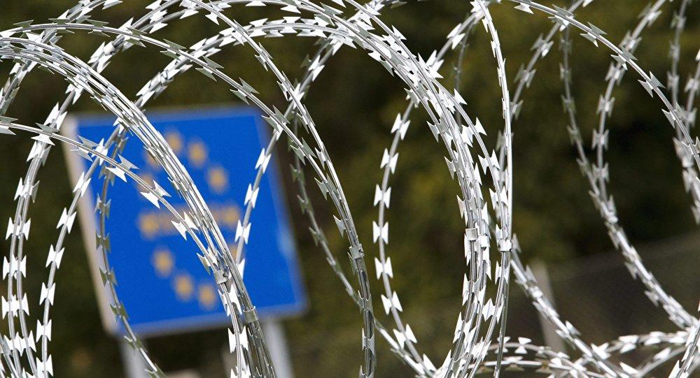 frontière avec la Slovénie