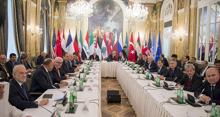 Négociations de Vienne sur le règlement de la crise en Syrie, le 30 Oct., 2015