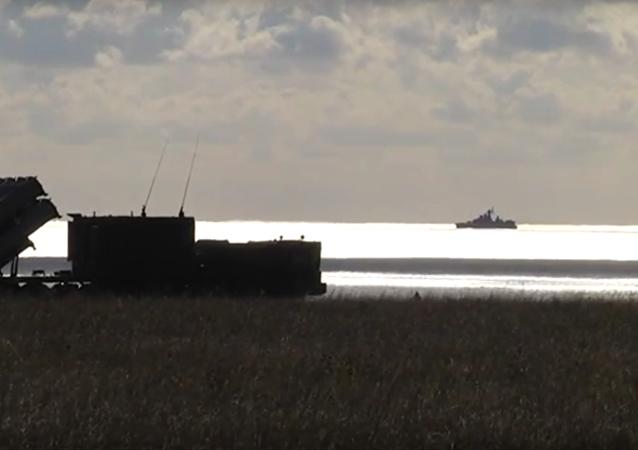Tirs réels de la Flotte russe en mer Noire