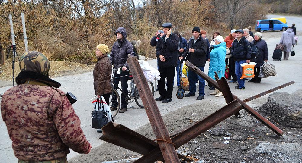 Dans le Donbass