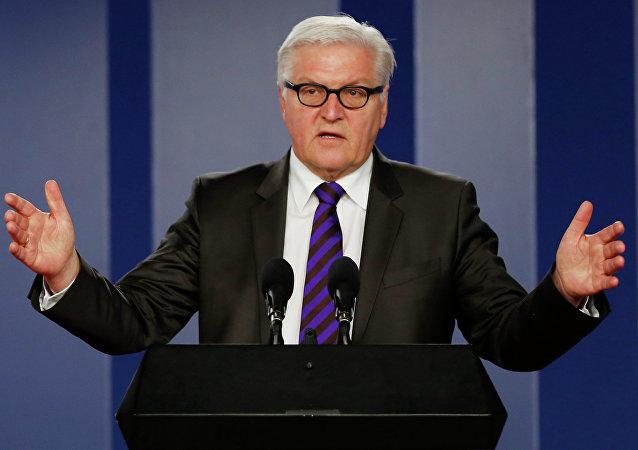 Ministre allemand des Affaires étrangères Frank-Walter Steinmeier