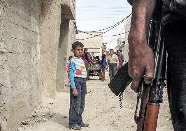 Un enfant en Syrie
