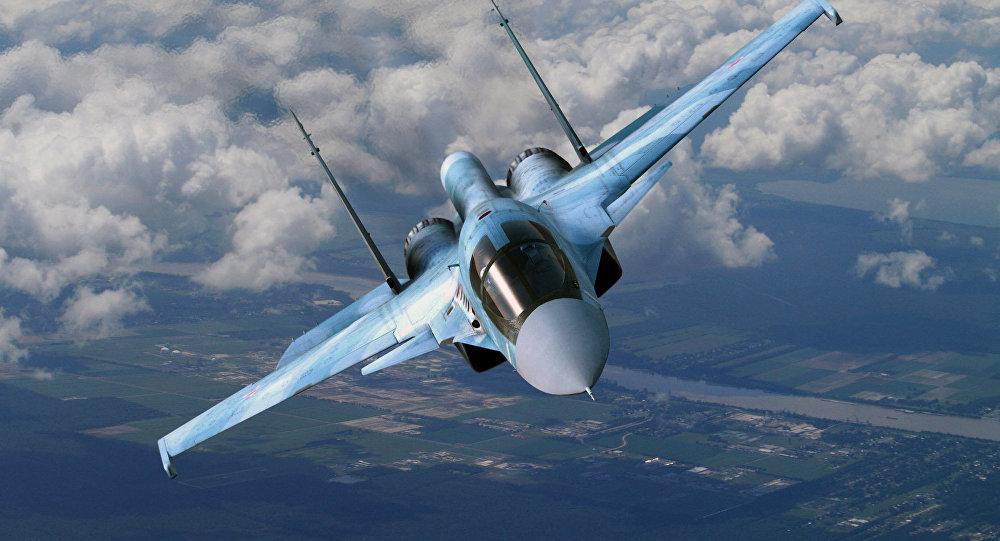 Un avion Su-34