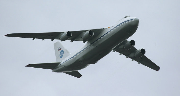 An-124. Photo d'archive