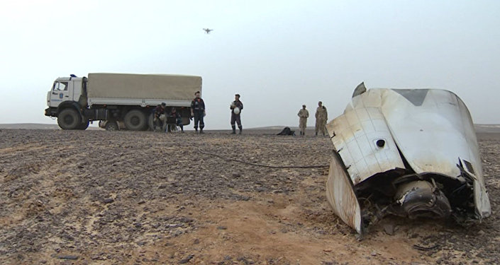 Un drone filme le site du crash de l'A321