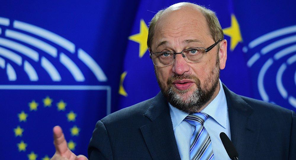 Martin Schulz, président du Parlement européen