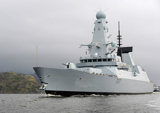 Type 45 Destroyer HMS