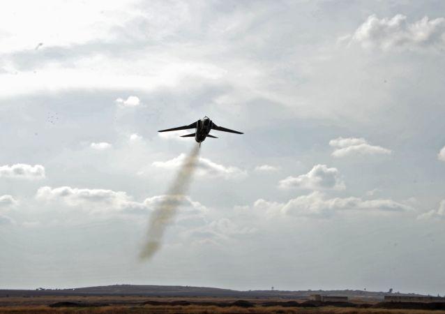 Un MiG appartenant à l'Armée syrienne.
