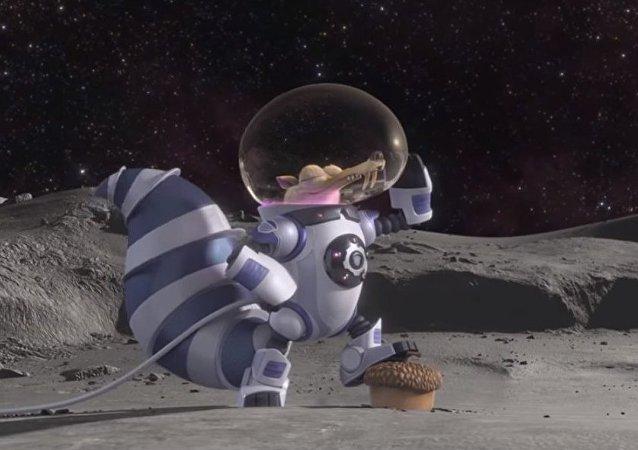Les créateurs de l'Âge de glace diffusent un court métrage sur un écureuil dans l'espace