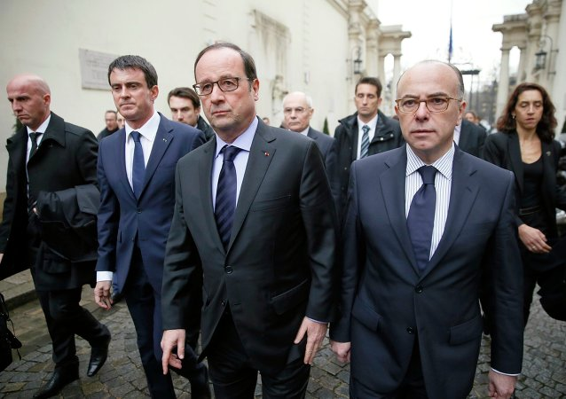 Manuel Valls, François Hollande et Bernard Cazeneuve