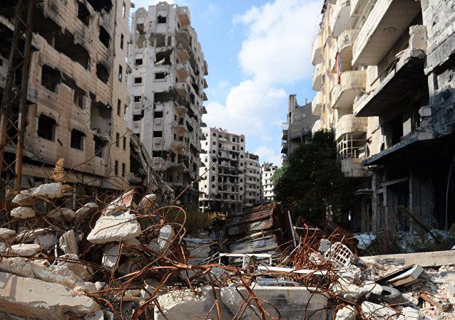 Ville syrienne de Homs