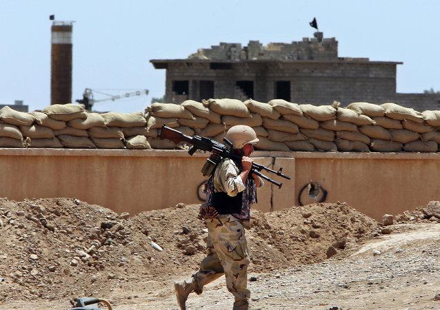 un militaire peshmerga