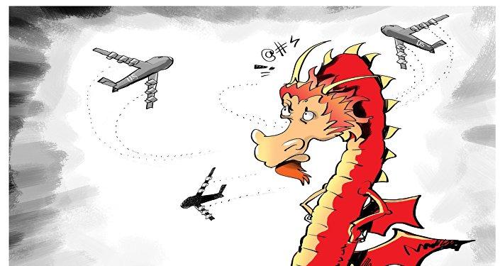Des bombardiers US en mer de Chine, un défi lancé à Pékin