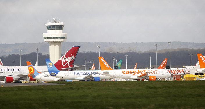 L'aéroport de Londres-Gatwick