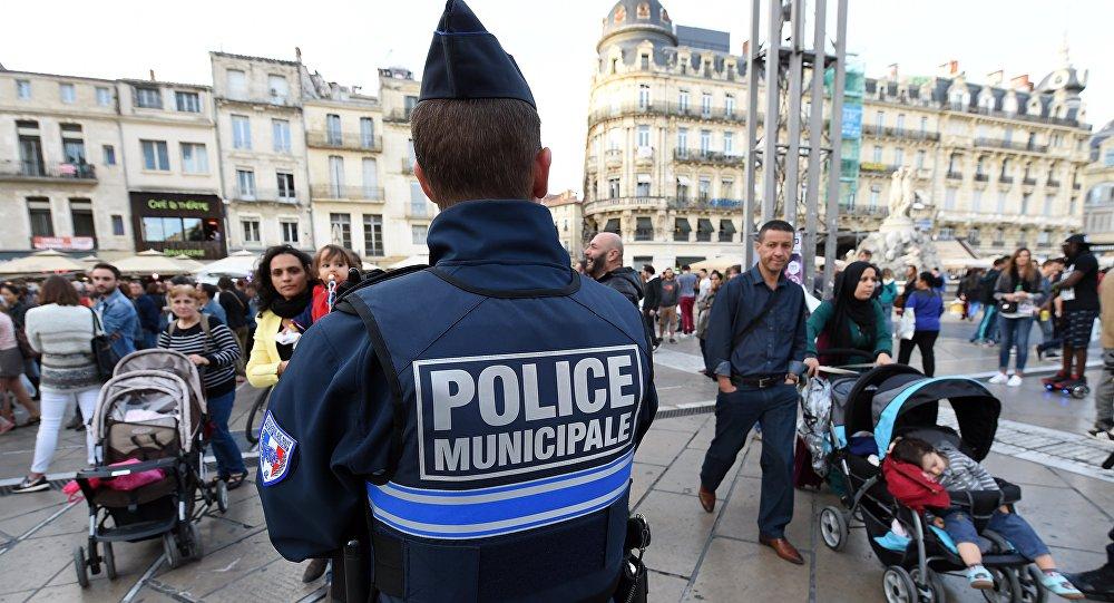 Un policier à Montpellier
