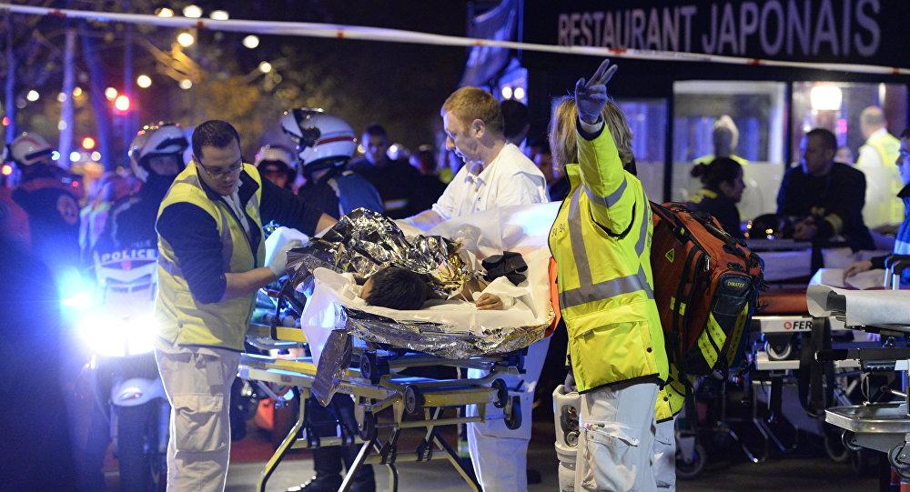 Après l'attentat au Bataclan, Paris