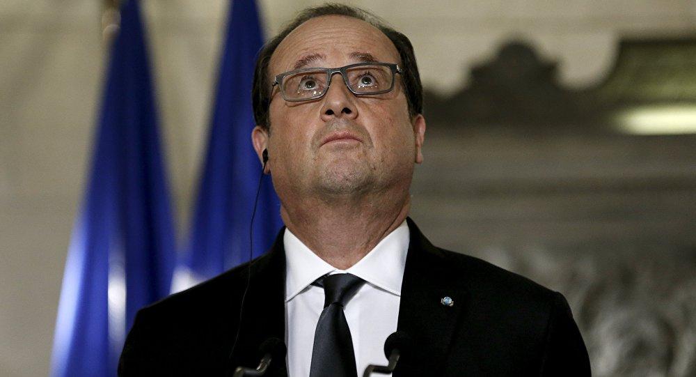Le président français François Hollande