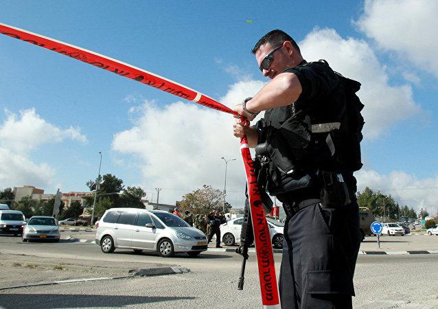 Un policier israélien