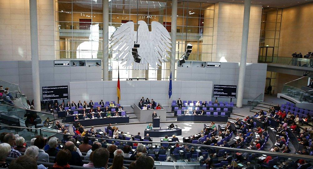 Une réunion au Bundestag