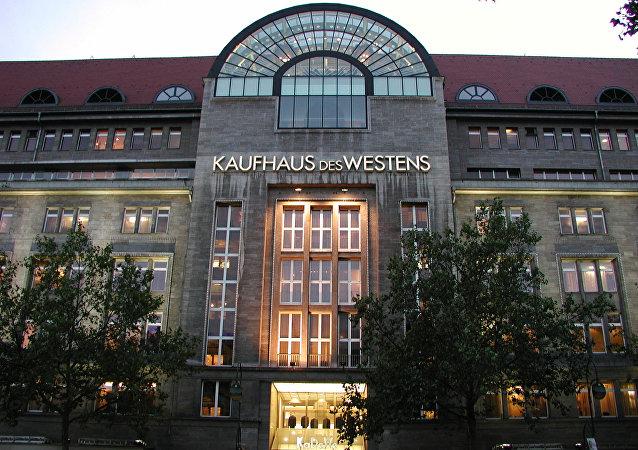 Le centre-commercial berlinois, Kaufhaus des Westens (KaDeWe)