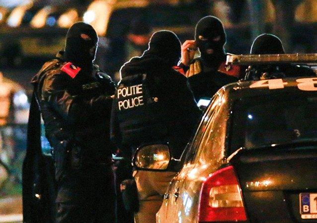 Opération policière en Belgique, Nov. 22, 2015