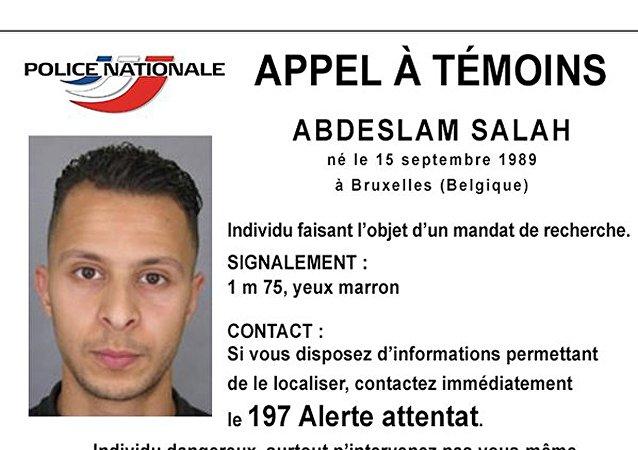 Salah Abdeslam recherché
