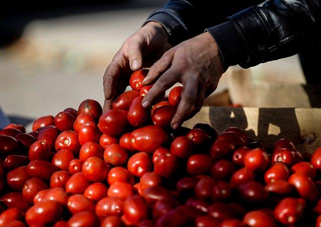 alimentaires  provenant d'Ukraine