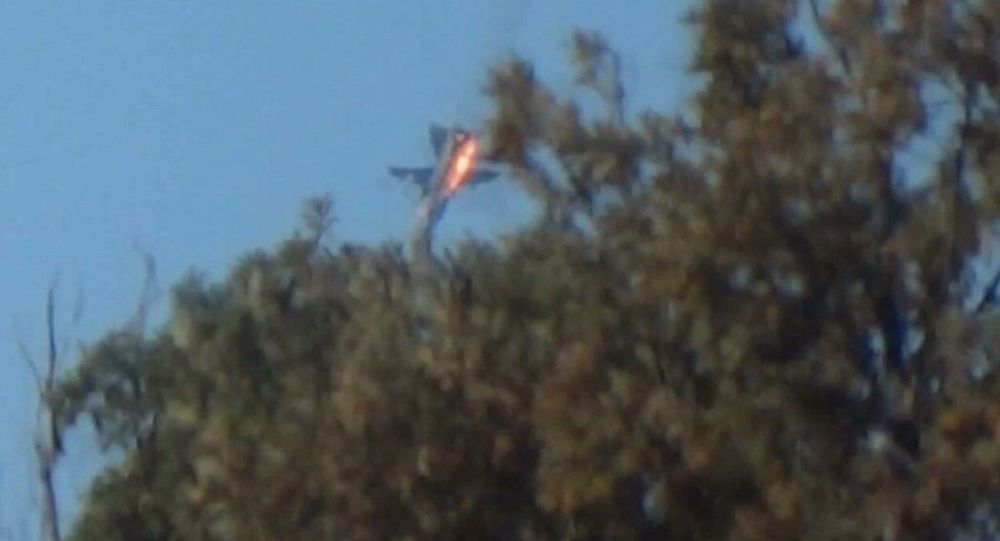 Chute du Su-24 russe abattu par la Turquie