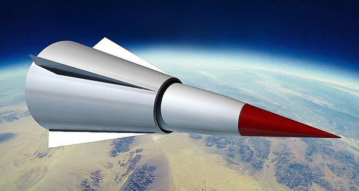 Concept graphique théorique de l'arme hypersonique chinoise DF-ZF (Wu-14)