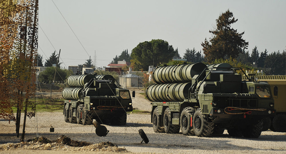 Missiles russes S-400 en Syrie