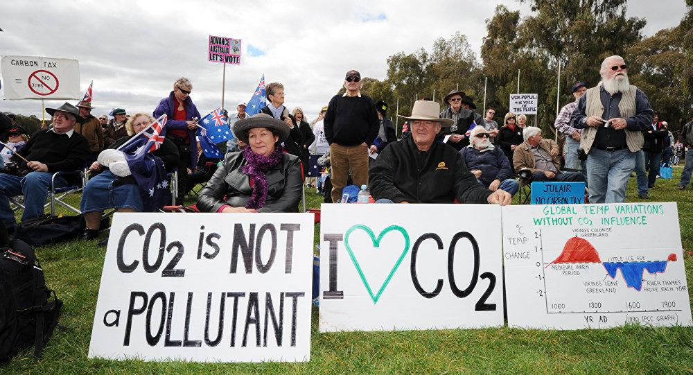 Manifestation en Australie