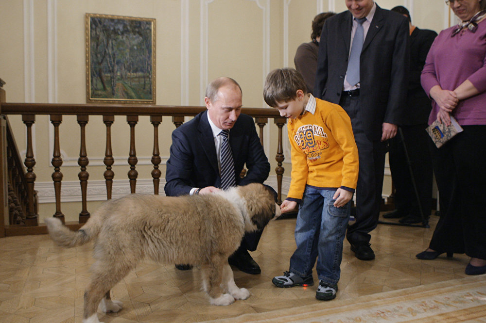 Les familles des dirigeants mondiaux et leurs animaux
