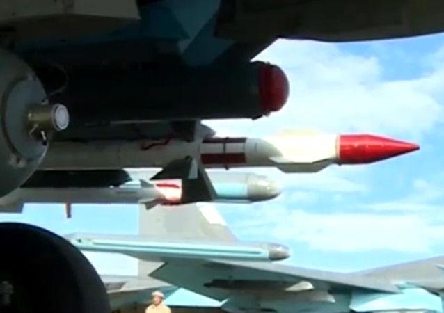 En Syrie, les Su-34 russes prêts à affronter une menace venue du ciel