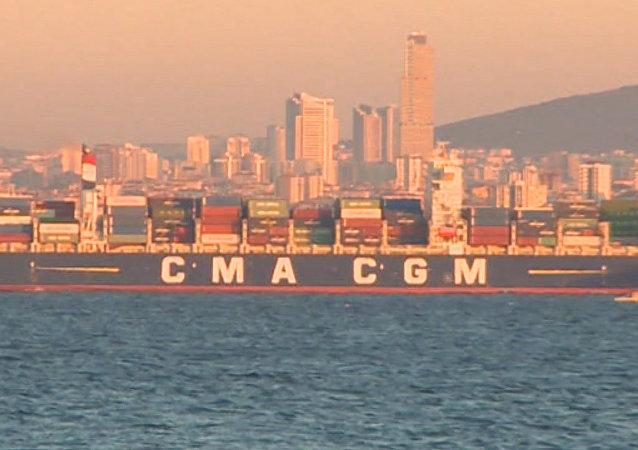 La Turquie bloque des navires russes